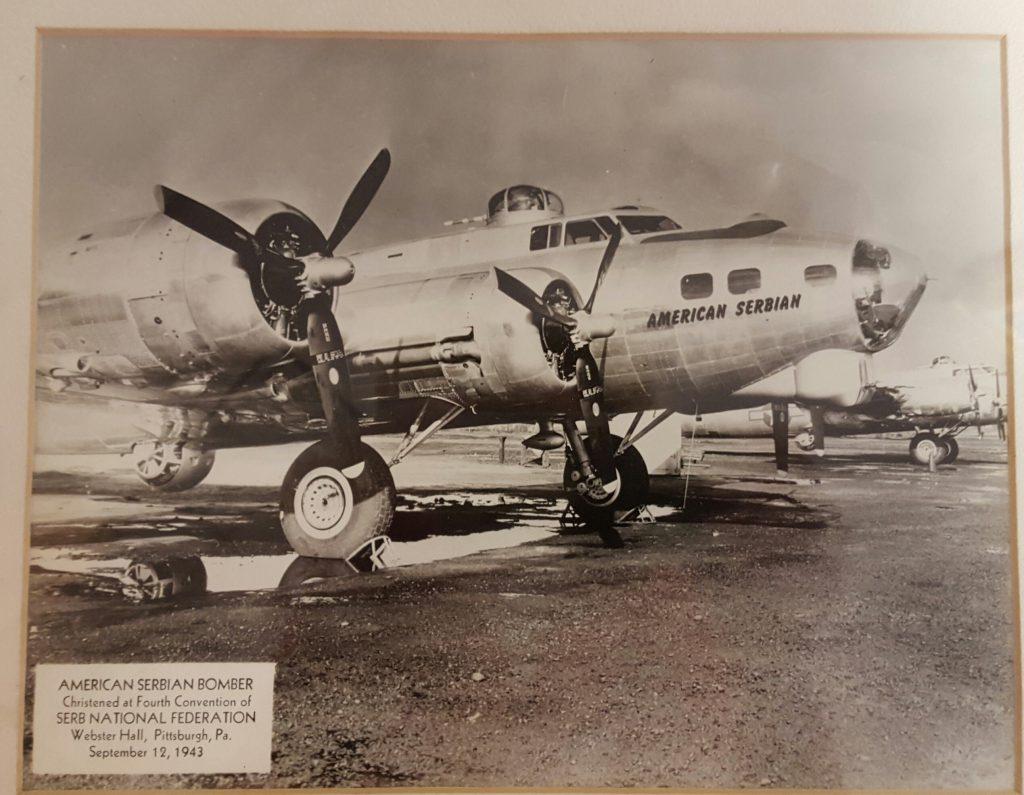 Serbian Bomber 1943 SNF